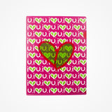 Stationary Plastic Folder Pink - biglove