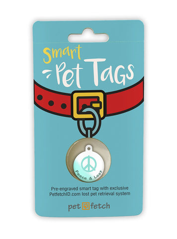 Fun Pet Tag - Peace & Lost