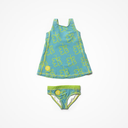 Biglove Swim Dress & Pantie | Blue | Freedom