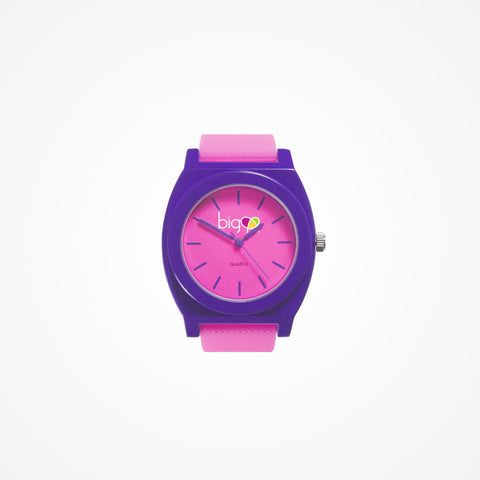 Biglove Watch Pink | Purple