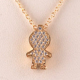 Boy Charm/Chain S Steel Yellow