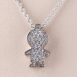 Boy Charm/Chain S Steel White