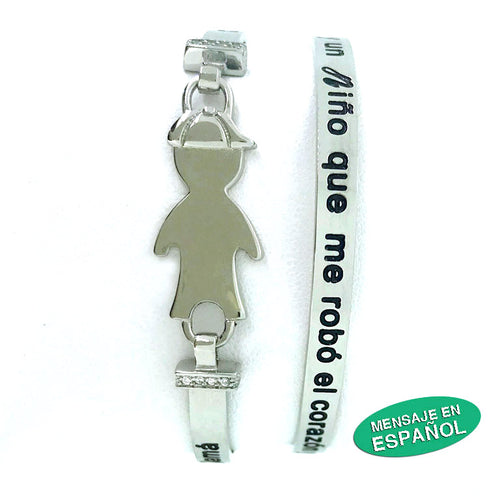 Boy Bracelet Stainless Steel