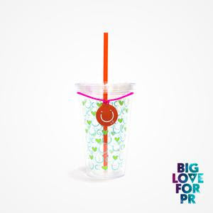 Biglove Cup - Green Hearts
