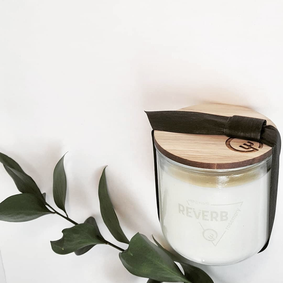 REVERB | rosemary candle » studio size