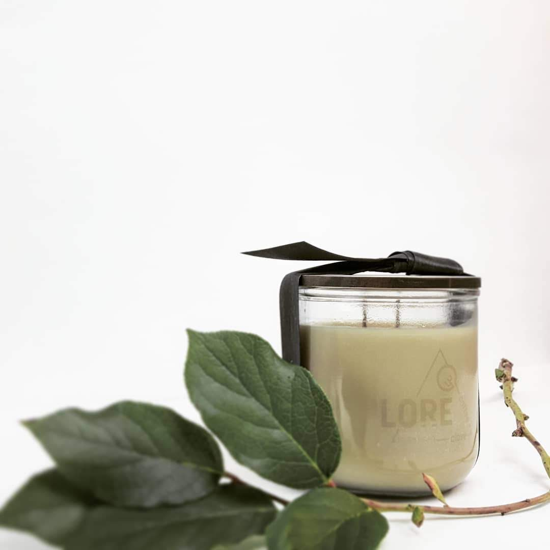 LORE | clove + coffee candle » studio size