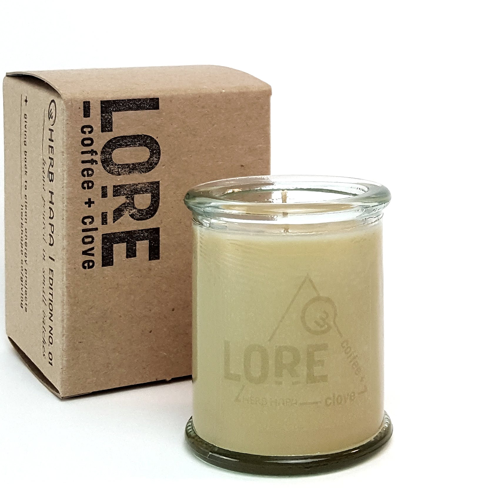 LORE | clove + coffee candle