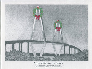 Ravenel Bridge with Wreath