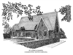 St. Lukes Chapel, notecards