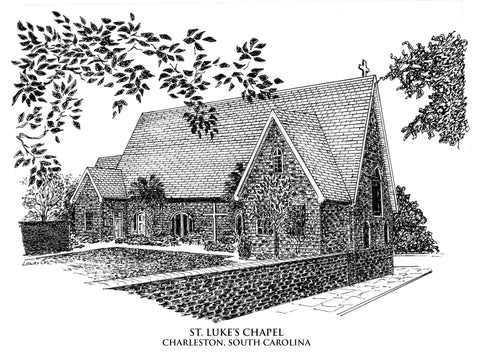 St. Luke's Chapel Notecard/s