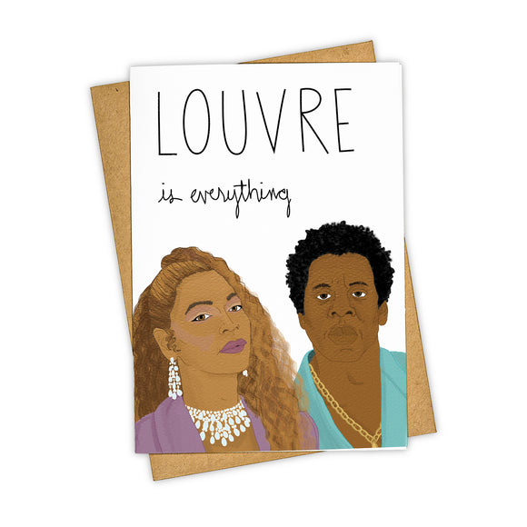 Louvre is Everything - Anniversary/Love Card
