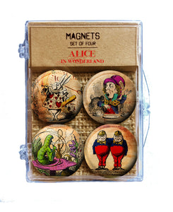 Alice in Wonderland - Magnets