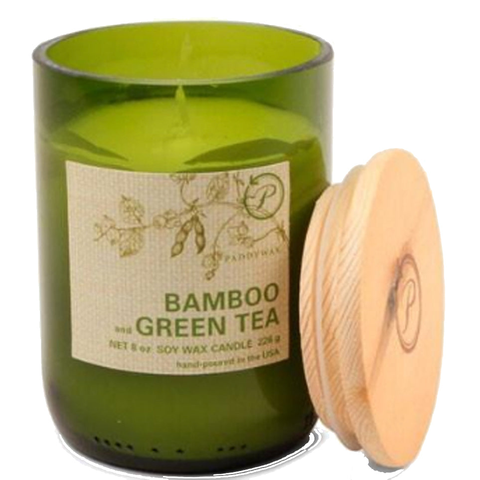 Eco Green Bamboo and Green Tea Candle
