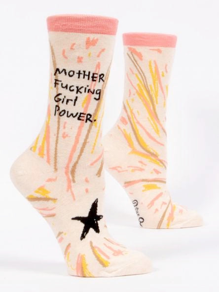 Girl Power - Women's Crew Socks