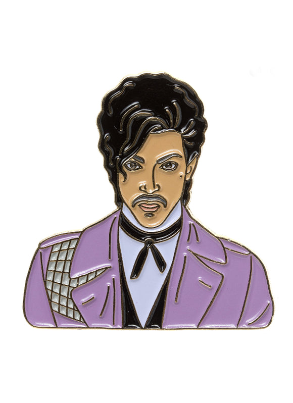 Prince Purple Jacket Enamel Pin