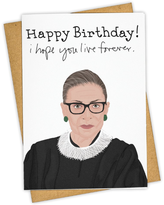 RBG Forever - Note Card