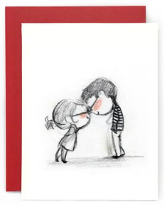 Clink Couple Greeting Card