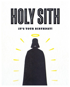 Holy Sith - Birthday Card