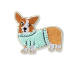 Corgi in Sweater Patch