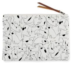 Nosey Dog Med Canvas Pouch