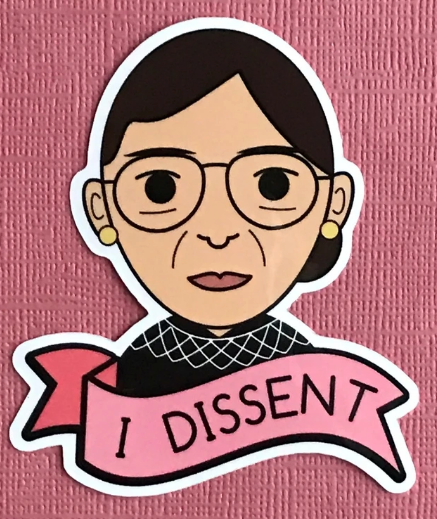 RBG I Dissent Sticker