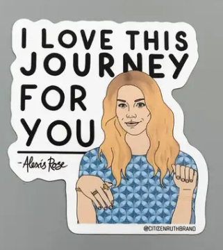 Alexis Journey Sticker - Schitt's Creek