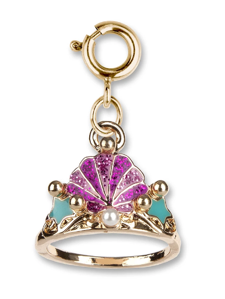 Charm it! Gold Mermaid Tiara Charm