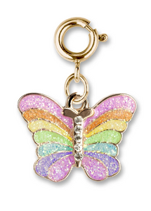 Charm it! Gold Glittery Butterfly