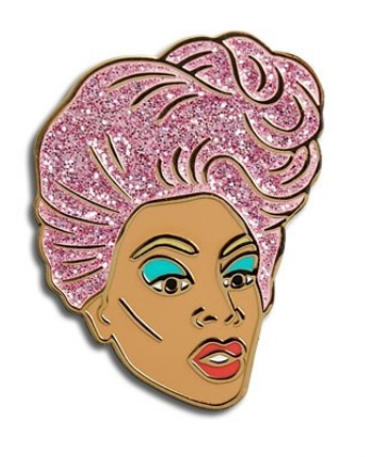 Ru Paul Enamel Pin