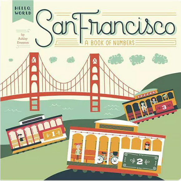 Hello World SF - A Book of Numbers - Baby Book