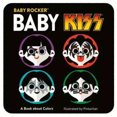 Baby Kiss - A Book of Colors - Baby Book