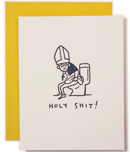 Holy Sh*t! - All Occasion Card