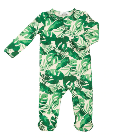 Zipper Footie Monstera - Angel Dear