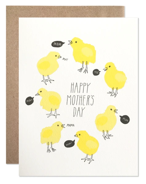 Mother's Day Chicks
