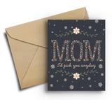 Pick You - Mother's Day Card