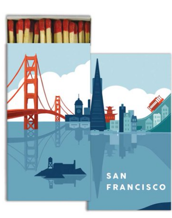 San Francisco Matchbox