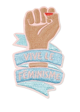 Vive Le Feminisme Patch