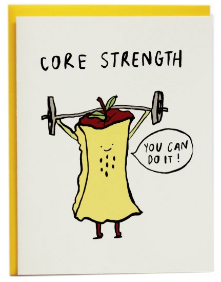 Core Strength - Encouragement Card