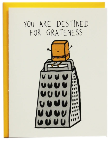 Destined for Grateness - Encouragement Card