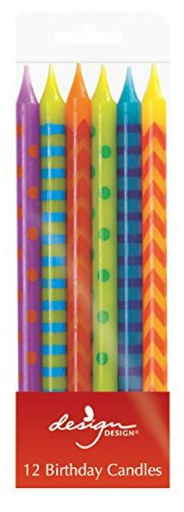 Stripes Candles