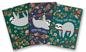Sloth Notebook - 3 styles