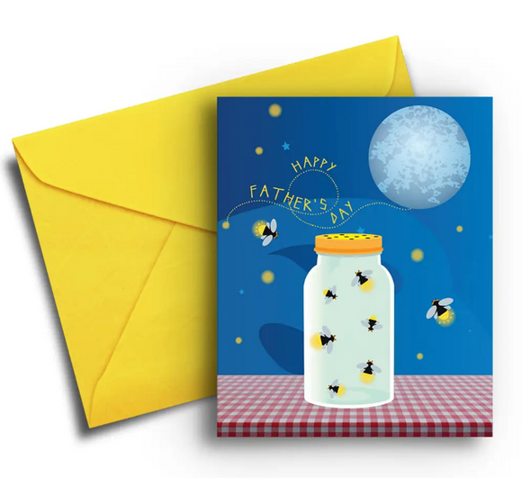 Fireflies - Father's Day Card