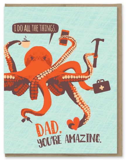 Dad All the Things -Father's Day Card