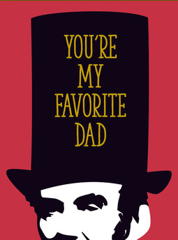Honest Abe - Father's Day Card