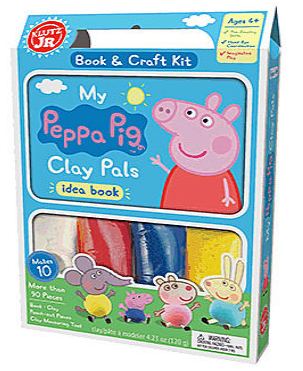 Klutz Jr Peppa Pig Clay Pals