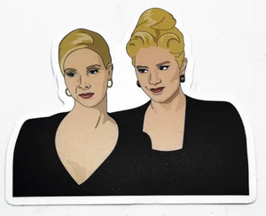 Romy and Michelle Sticker