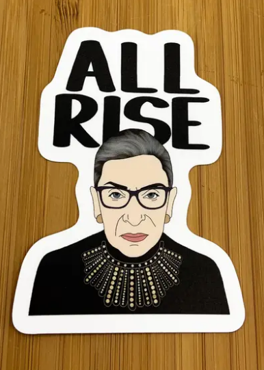 RBG All Rise Sticker