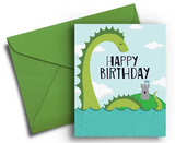 Loch Ness - Birthday Card