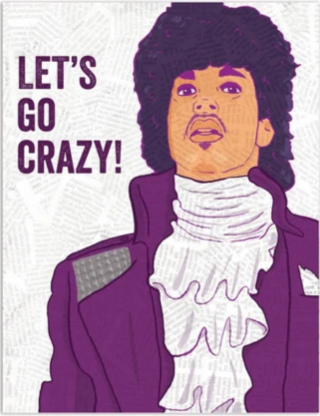 Let's Go Crazy - Birthday Card