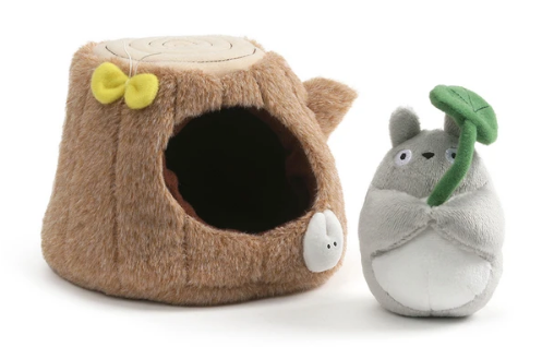 Totoro Tree Trunk Play Set 4